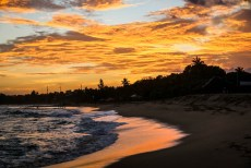 Tangalle Sri Lanka zachód słońca 2