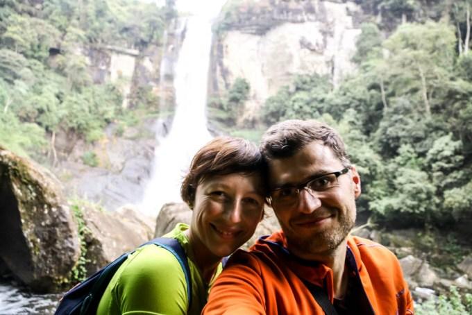 Wodospad Ramboda Nuwara Eliya