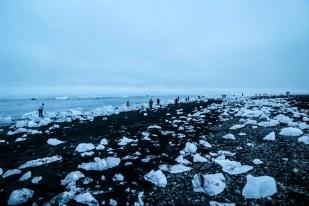 Islandia laguna Jokulsaron plaże