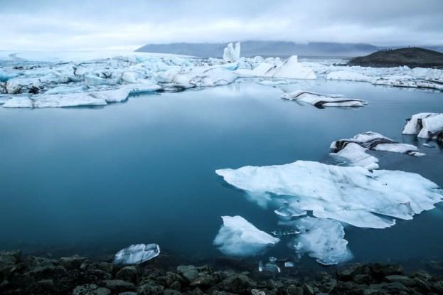 Islandia laguna Jokulsaron