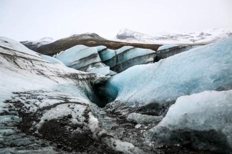 Islandia wycieczka do jaskini lodowej 3