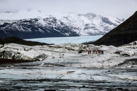 Islandia zimą jaskinia lodowa 7
