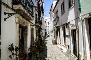 Lizbona Alfama