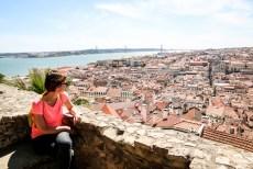 Lizbona Castelo de Sao Jorge
