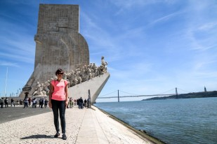 Lizbona Pomnik Odkryć Geograficznych 2