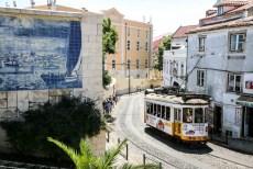 Lizbona tramwaj nr 28