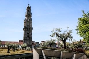 Porto wieżą Torre Dos Clerigos
