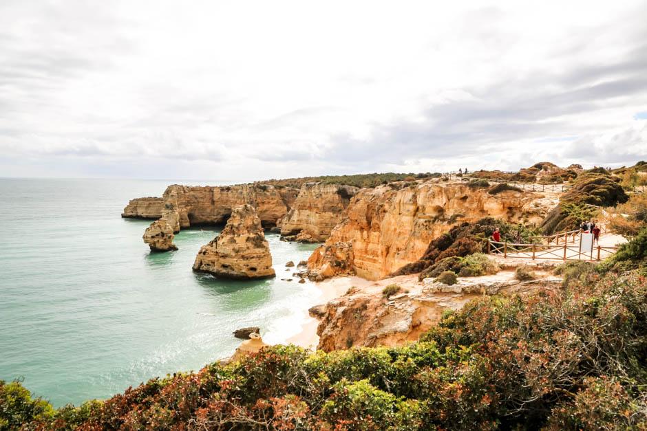 Portugalia Algarve Praia da Marinha 2