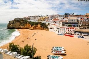 Portugalia Algarve Praia de Carvoeiro 4