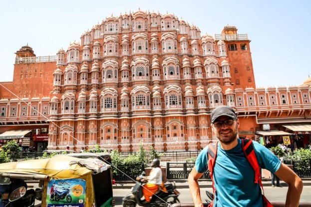 Indie Jaipur Hawa Mahal