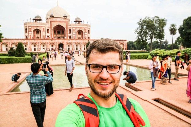 Indie New Delhi grobowiec Humayuna 2