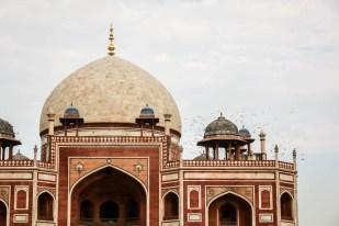 Indie New Delhi grobowiec Humayuna 3