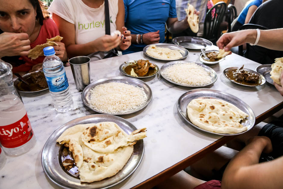 Indie Old Delhi street food