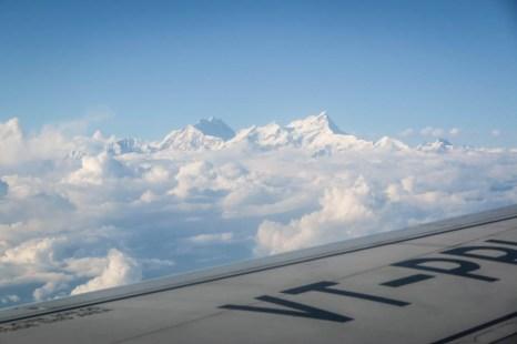 Nepal lot samolotem szczyty Himalajów