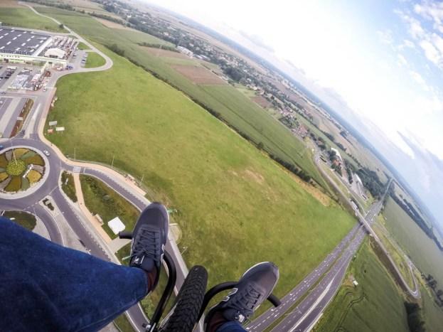 Lot motoparalotnią w Gliwicach 1