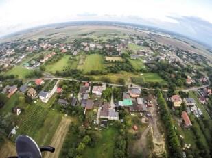 Lot motoparalotnią w Gliwicach 2