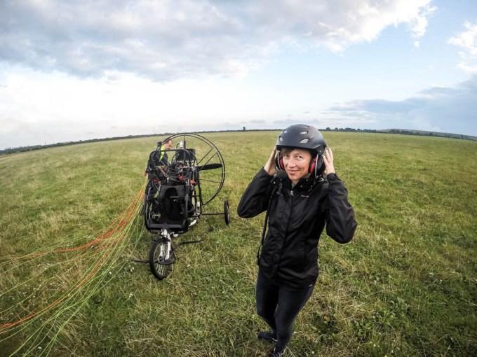 Lot motoparalotnią w Gliwicach 9