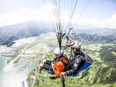 Nepal Pokhara lot paralotnią 8