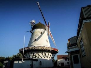 Bornholm wiatrak Gudhjem