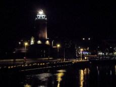 Kołobrzeg nocą