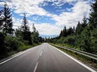 Wycieczka rowerowa wokół Tatr - zjazd