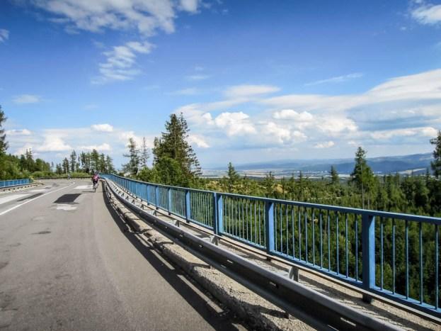 Wysokie Tatry wiadukt