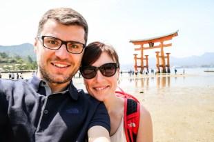 Miyajima brama torii