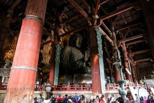 Świątynia Todai-ji Nara Wielki Budda