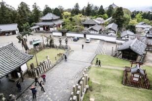 Świątynie Nara panorama