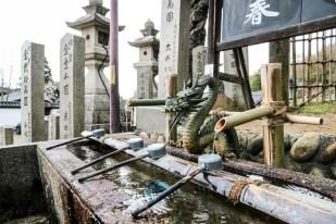 Świątynie Nara woda
