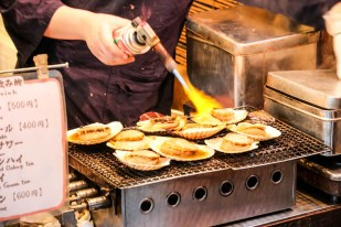 Targ Tsukiji Tokio jedzenie