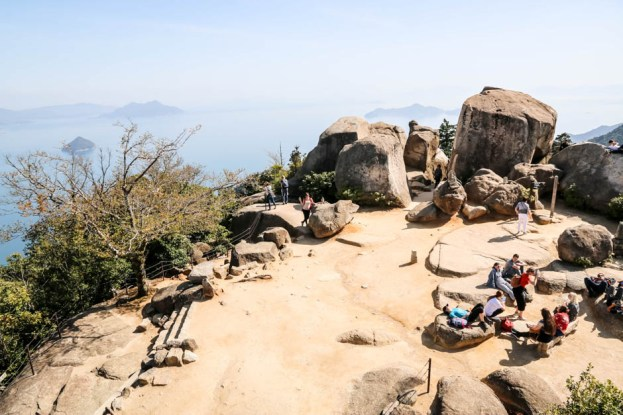 Widok z góry Misem Miyajima 2