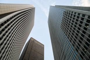 Wieżowce Shinjuku Tokyo
