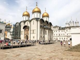 Kreml Moskwa sobory