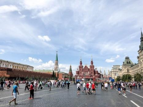 Plac Czerwony Moskwa