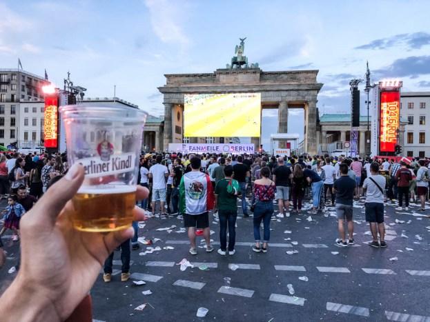 Wieczór w Berlinie - mecz