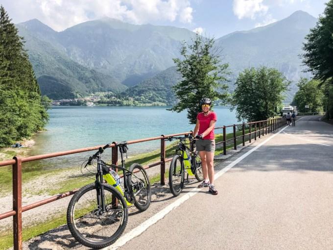 Start wycieczki z Lago di Ledro