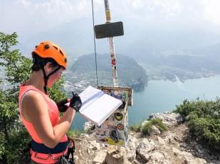 Wspinaczka na Cima Capi szczyt