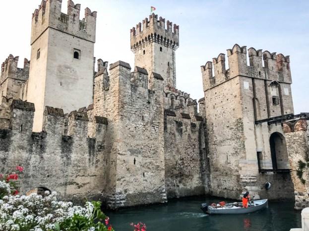 Zamek Scaligerich w Sirmione