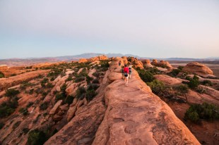 Arches trekking