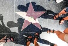 Hollywood gwiazdy Michael Jackson
