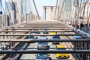 Most Brookliński auta