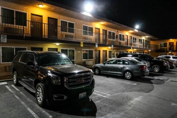 Motel w Los Angeles