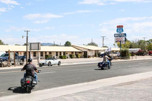 Motele i harleye na Route 66
