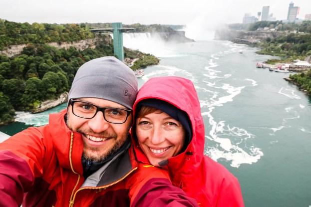 Niagara z Tęczowego Mostu