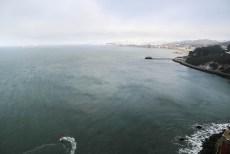 Panorama miasta z Golden Gate Bridge