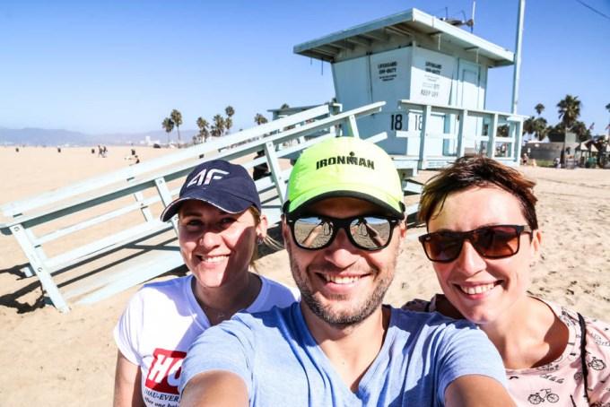 Przy budce ratowniczej Venice Beach