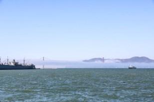 San Fransisco Golden Gate z Pier 39