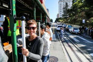 San Fransisco jazda tramwajem