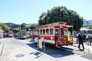 San Fransisco tramwaje Hyde Street